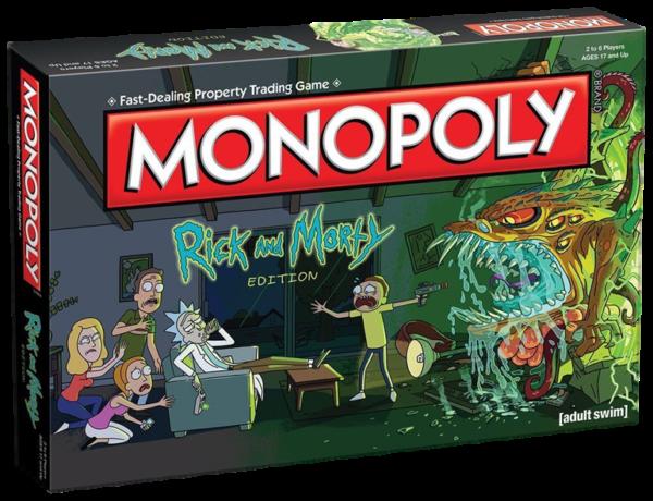 Juego de mesa monopoly rick y morty