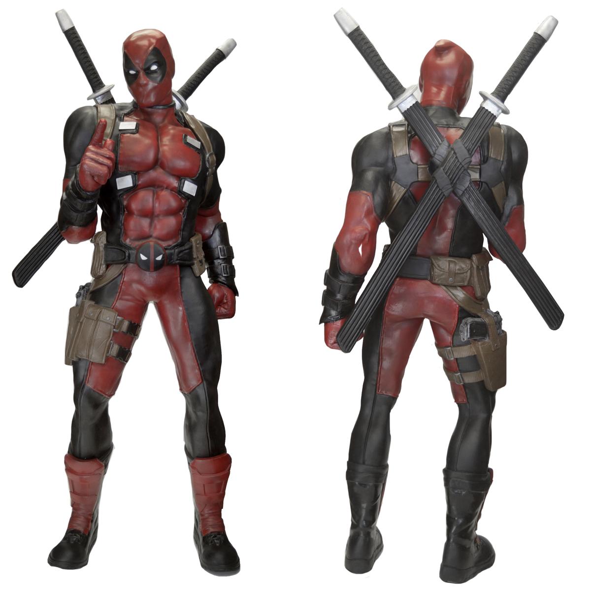 Deadpool tamaño real
