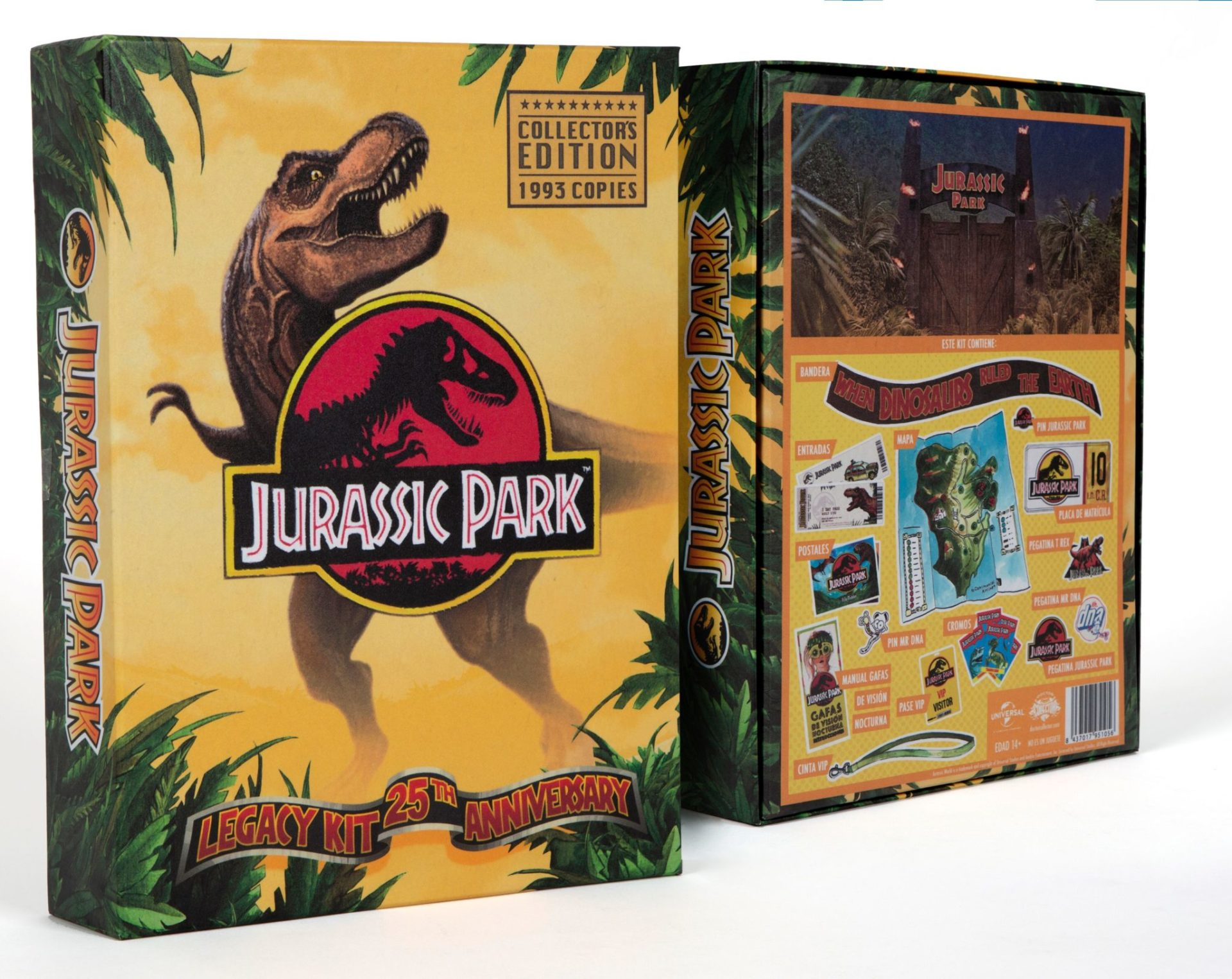 jurassic park legacy kit