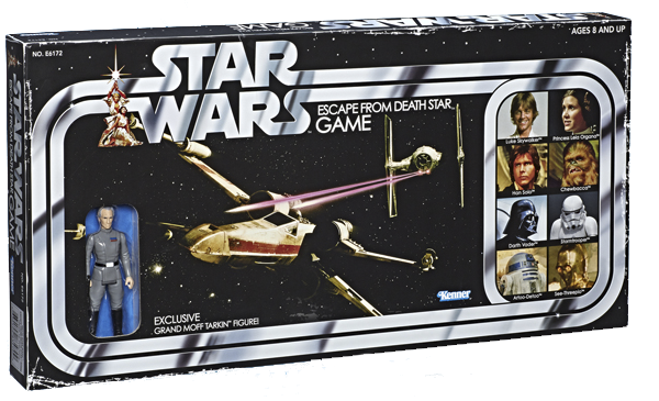 Juego de mesa Star Wars Escape from Death Star Retro
