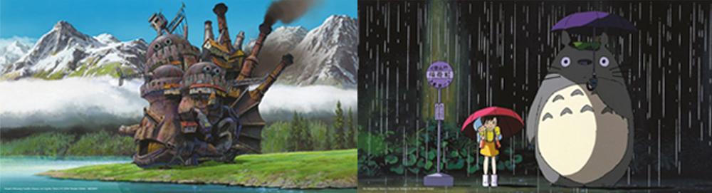 Posters de madera de Studio Ghibli